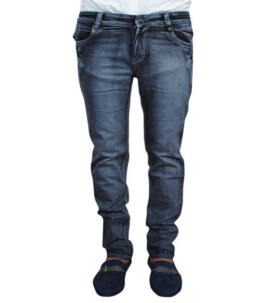 J-stage Men's Denim Jeans - Lycra