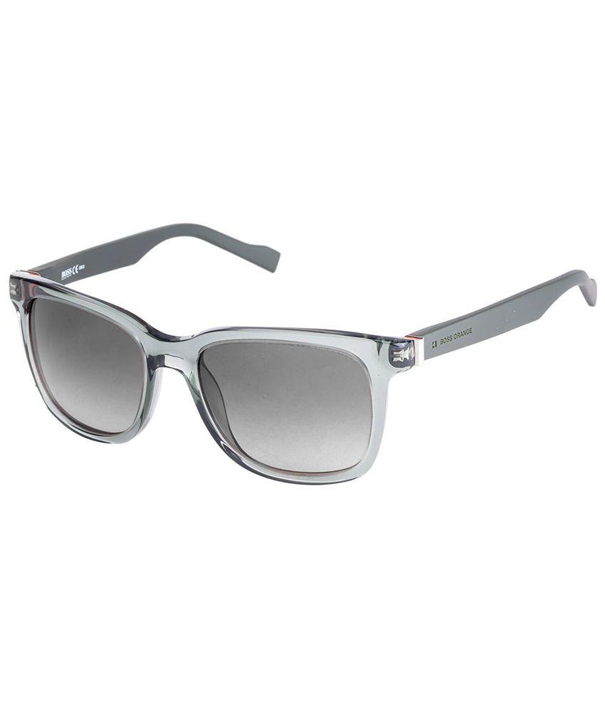 ddfdc041133 Boss Orange BO 0127 S Green Grey Gradient 1QJ Wayfarer Sunglasses - Buy  Boss Orange BO 0127 S Green Grey Gradient 1QJ Wayfarer Sunglasses Online at  Low ...