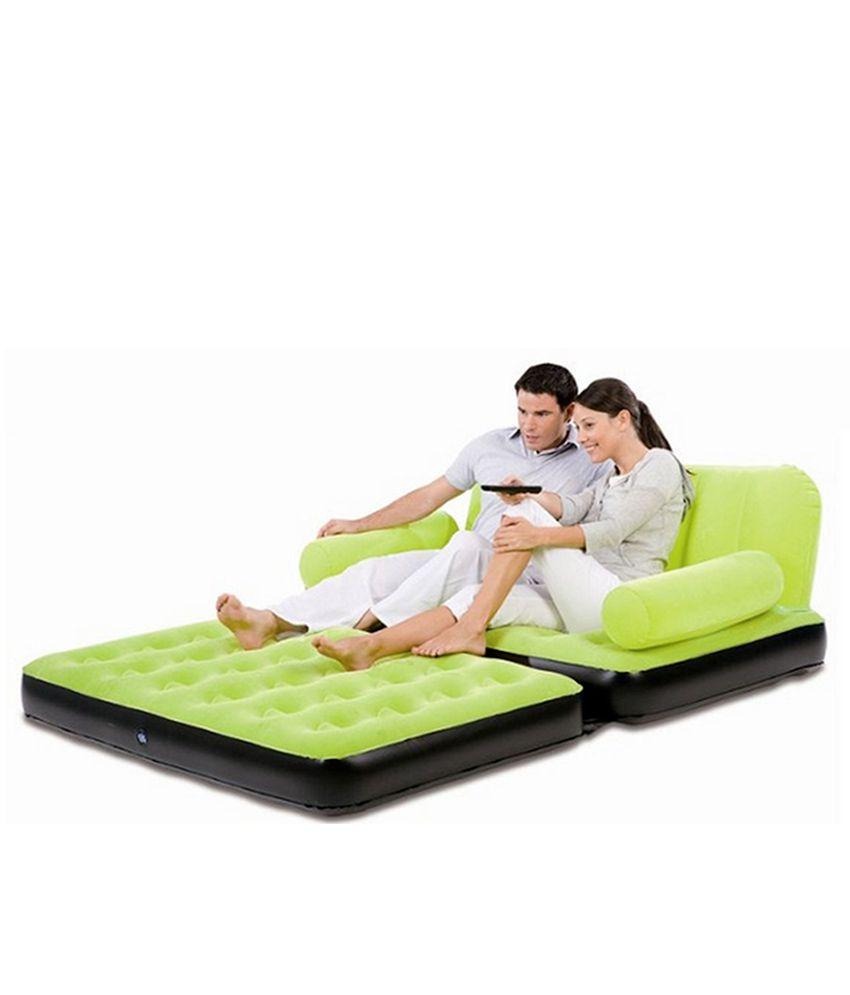 sofa cum bed air ~ double velvet sofa cum bed air lounge inflatable  buy
