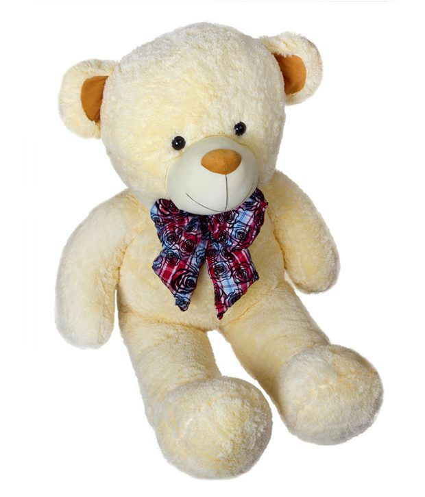 Dhoom Soft Toys Teddy Bear Jumbo 5 Feet Cream 60inches Buy Dhoom Soft Toys Teddy Bear Jumbo 5 Feet Cream 60inches Online At Low Price Snapdeal