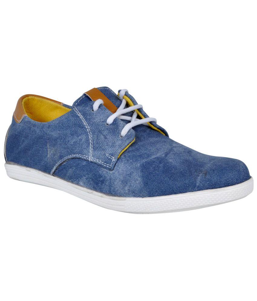MARCO FERRO Blue Sneaker Shoes