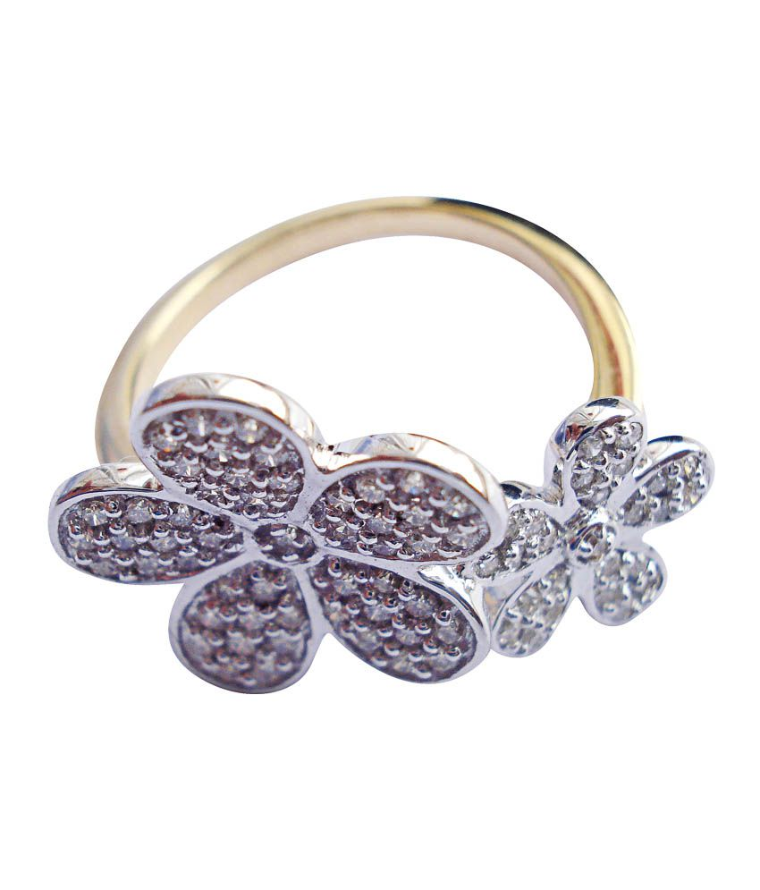 Ratnam 18kt Gold Diamond Ring