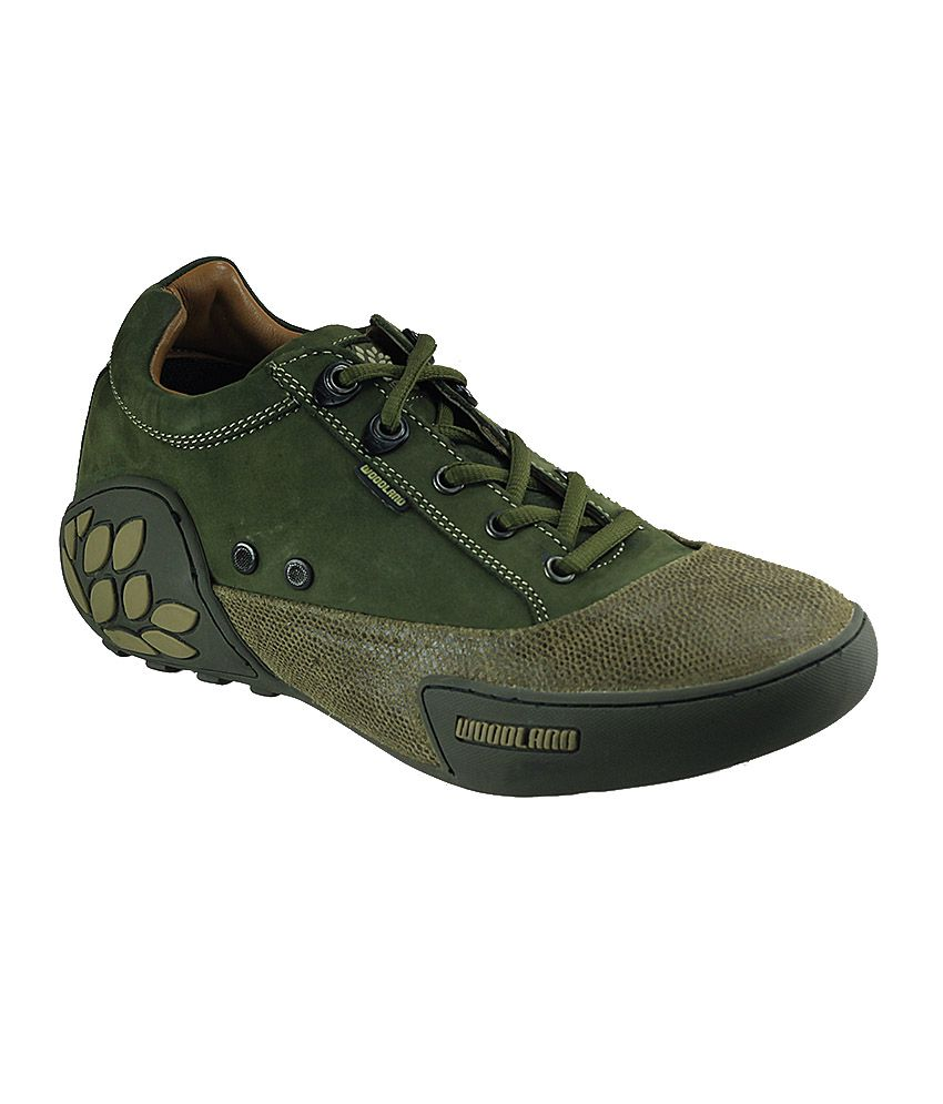 Woodland Green Color Casual Shoes For Men Online At Best Prices In India On Snapdeal
