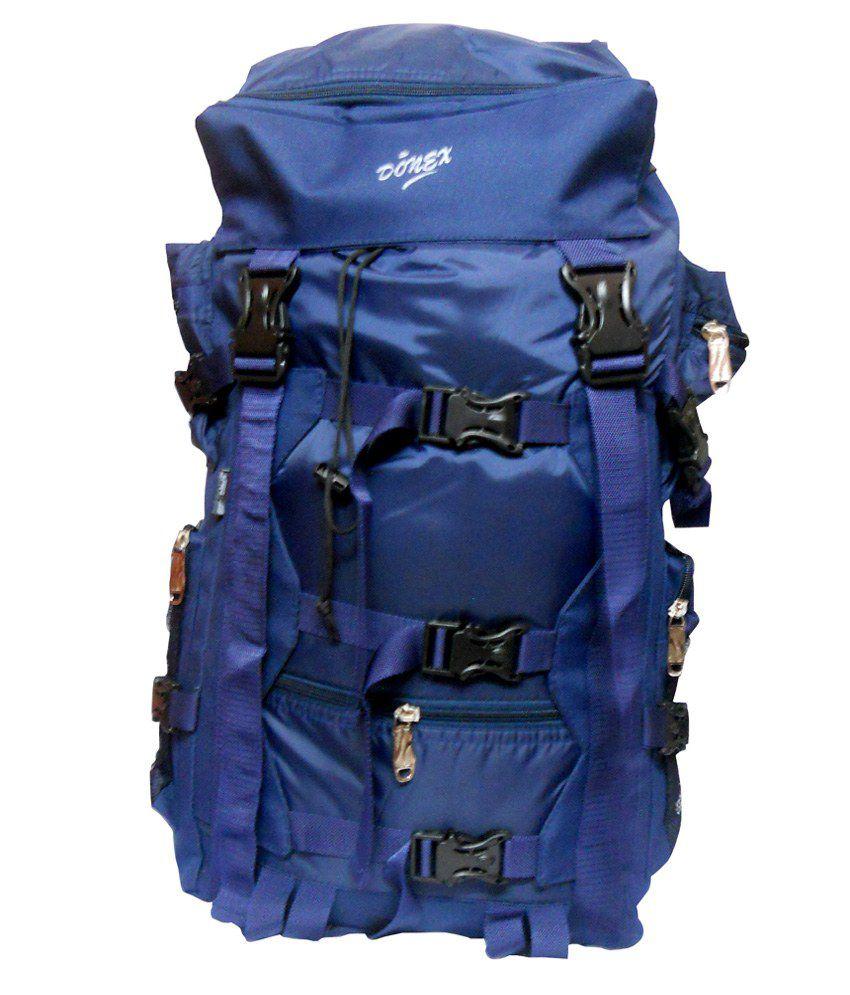 be78ada96e Donex Hiking Bag Tracking Bag Rucksack Backpack 60-65 litre Blue Waterproof  - Buy Donex Hiking Bag Tracking Bag Rucksack Backpack 60-65 litre Blue ...