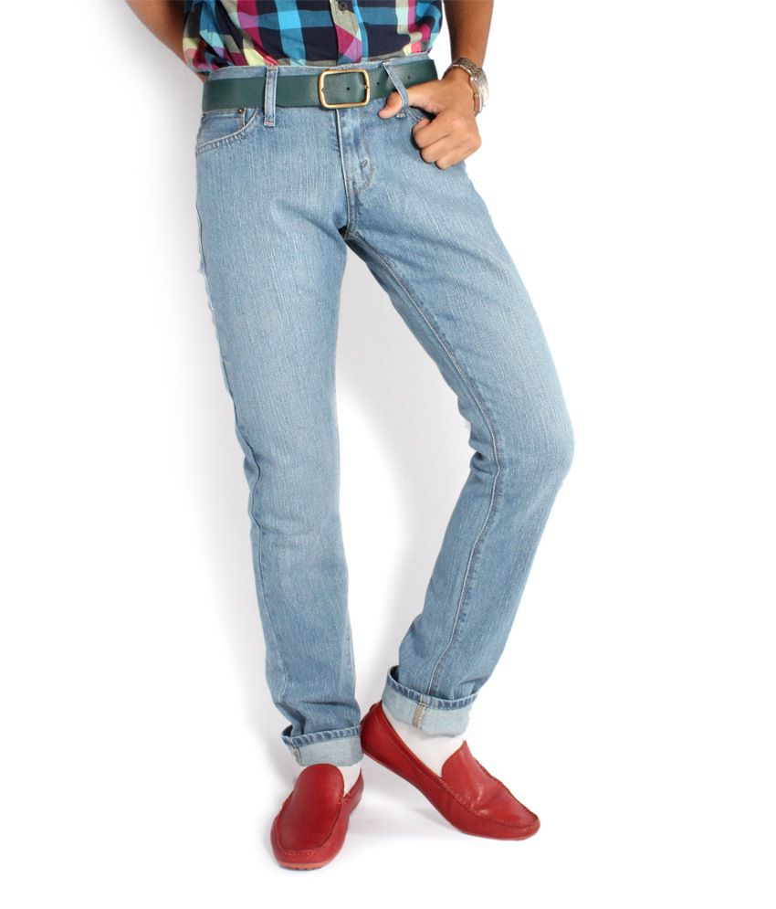 Denizen Regular Fit Classic Blue Jeans 333970050