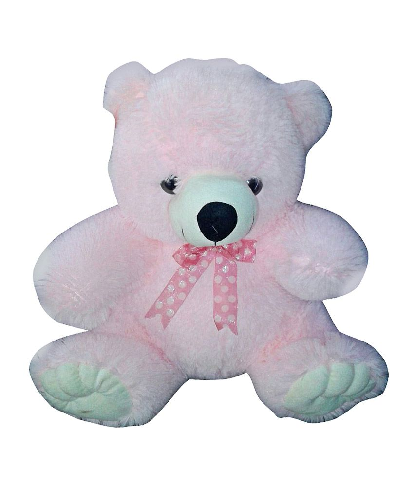 hug n play Hug N Play Pink Colour Teddy Bear