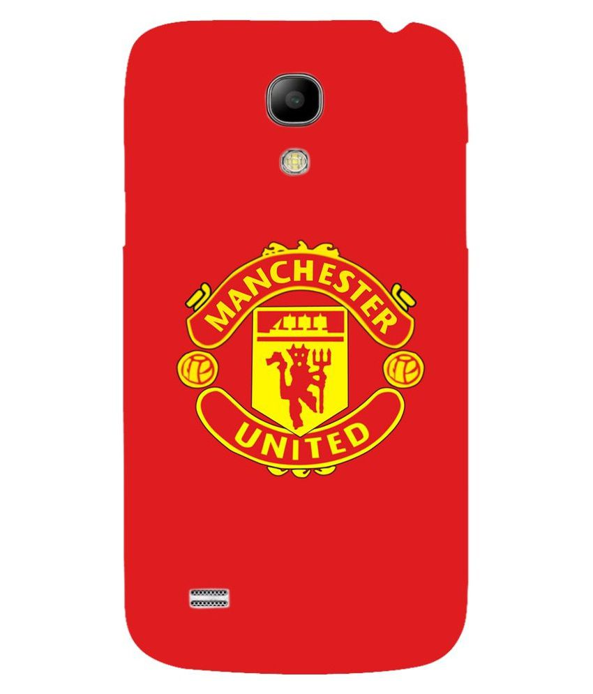 Snoogg Manchester United Logo Case Cover For Samsung Galaxy S4 Mini
