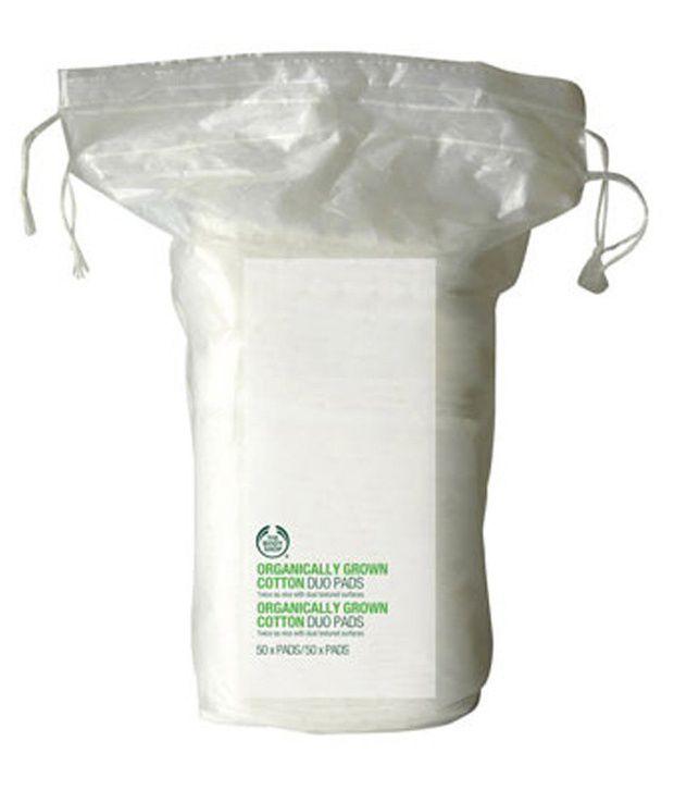 The Body Shop Organic Cotton Pads 50 Pads