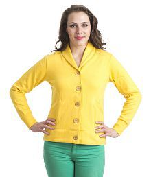 Finesse Yellow Poly Cotton Jackets