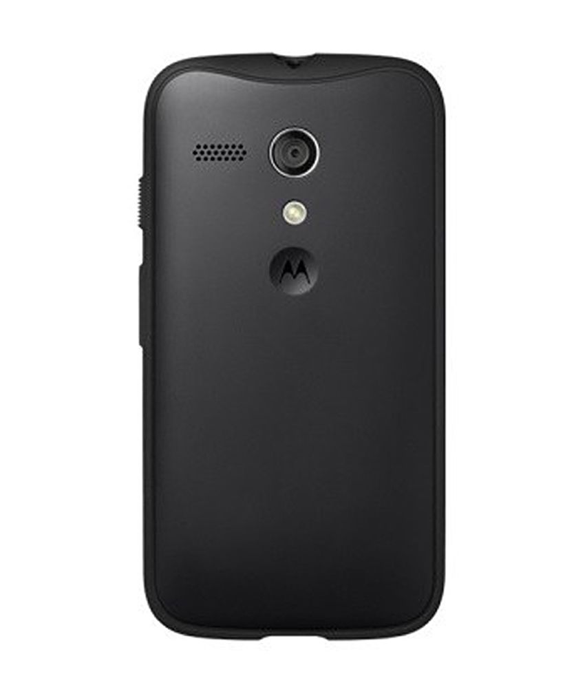 finest selection 09e64 cca71 Motorola Grip Back Cover For Moto G - Black