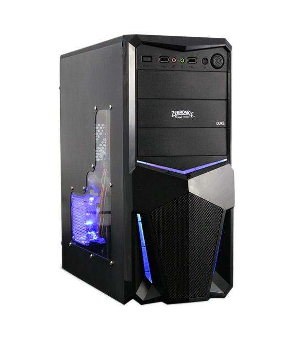 Zebronics Duke Cabinet With Smps Gaming Buy Zebronics