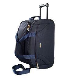 Timus Samprass 55 Blue Wheel Duffle Luggage Trolley Bag