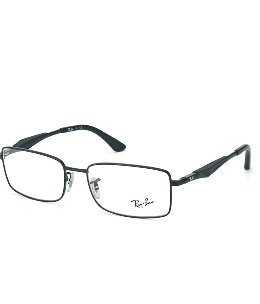ray ban lowest price  RAY-BAN RX-6284-2503-55 Men Rectangle Eyeglasses - Buy RAY-BAN RX ...