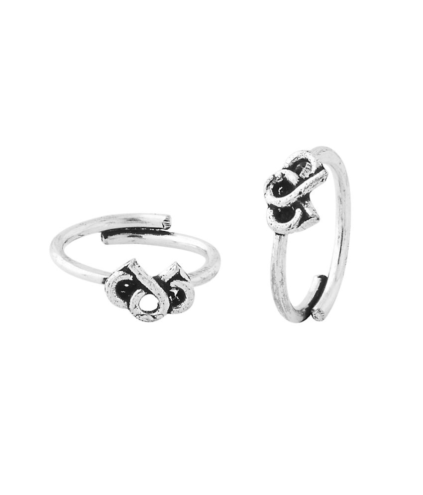 Voylla Delicate Pair Of Toe Rings