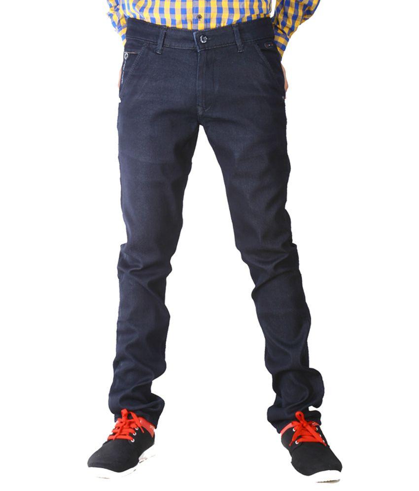 Never 9 Black Slim Semi Formals Chinos