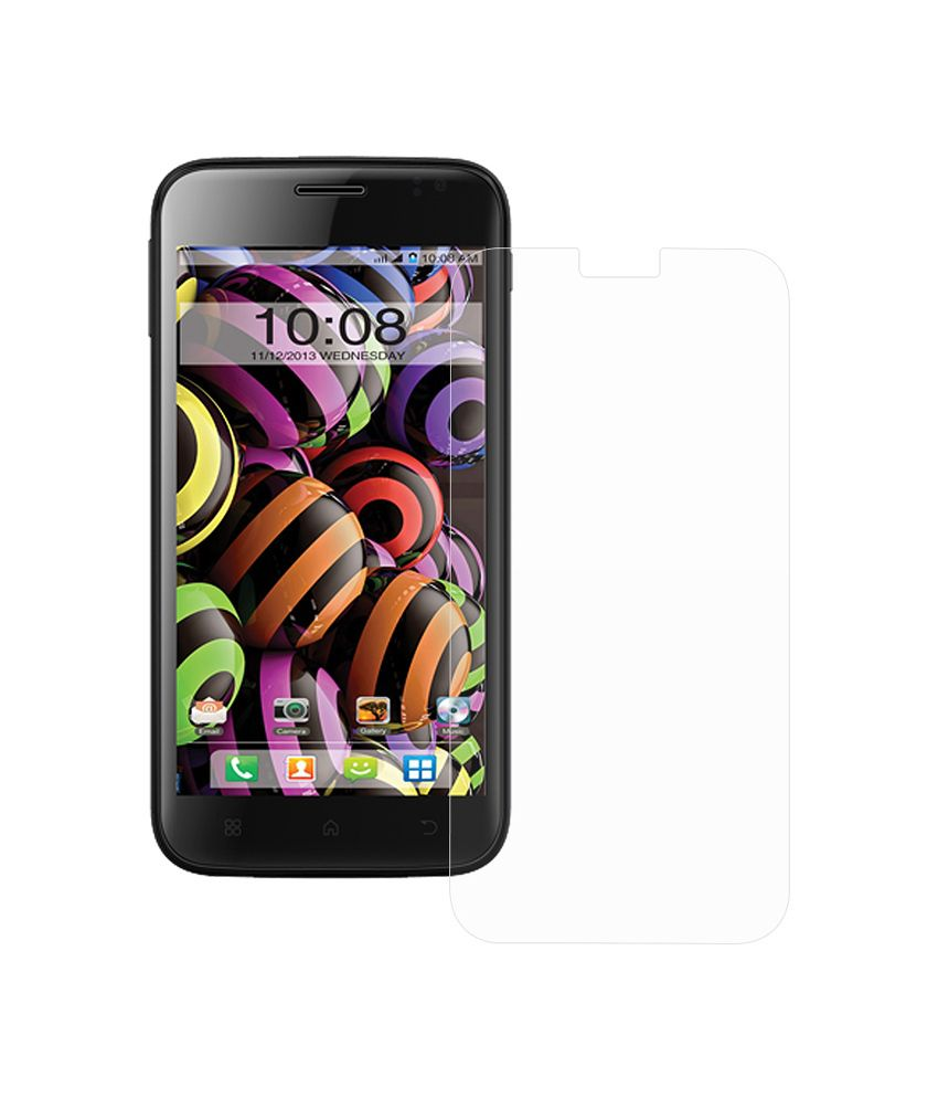 Intex Aqua Curve Clear Screen Guard by Ostriva