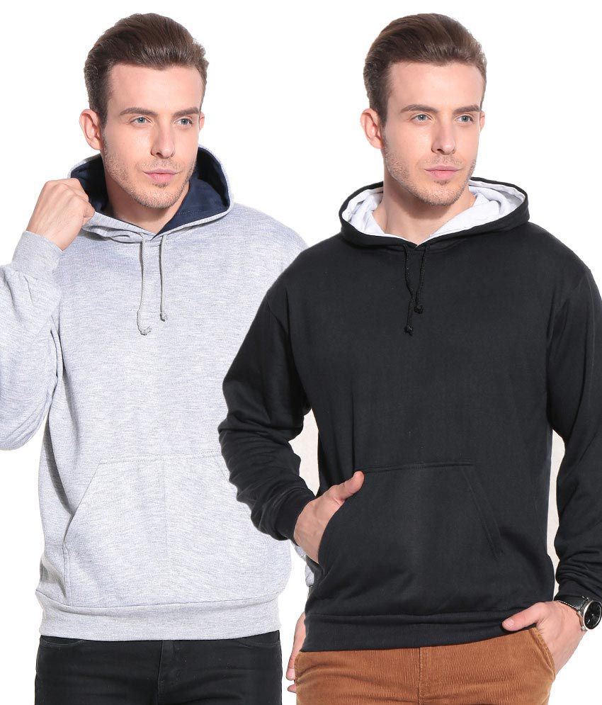 Tsx Black Cotton Blend Sweatshirt Combo Of 2 Sweatshirts - Buy Tsx Black  Cotton Blend Sweatshirt Combo Of 2 Sweatshirts Online at Low Price in India  - ... 0d84ef459eac