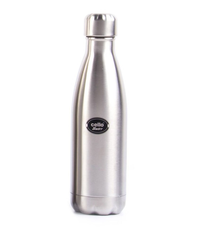 e1d5524c9cc Cello Swift 500 Ml Stainless Steel Bottle  Buy Online at Best Price in  India - Snapdeal