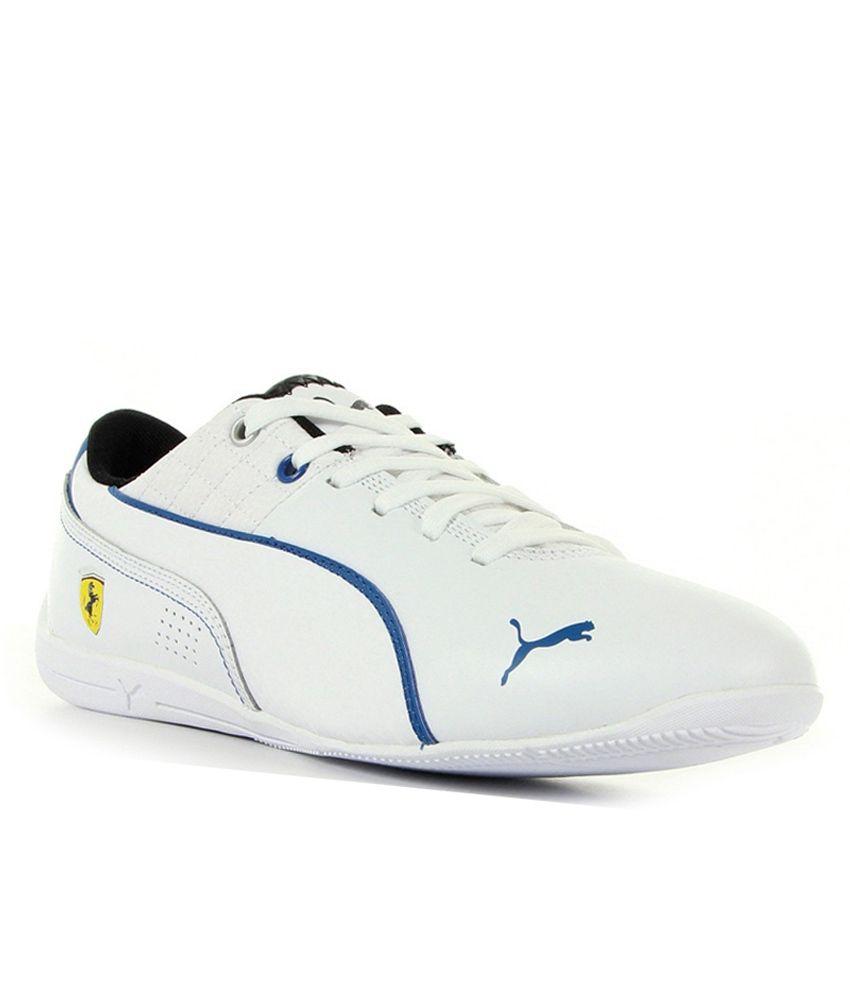 Puma White Sneaker Shoes - Buy Puma