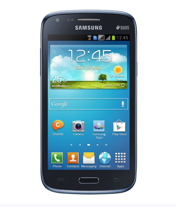Samsung Galaxy Core Gt I8262 Blue Mobile Phones Online At