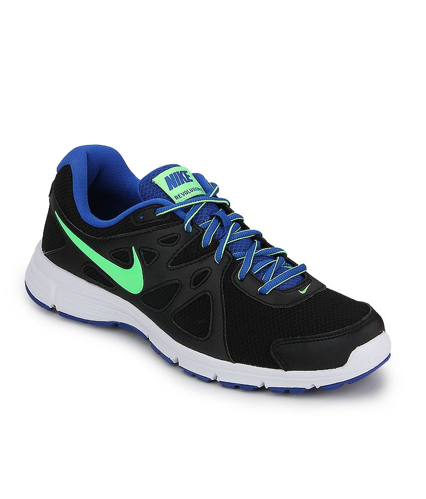 details for promo codes outlet Nike Revolution 2 Msl Black Running Shoes