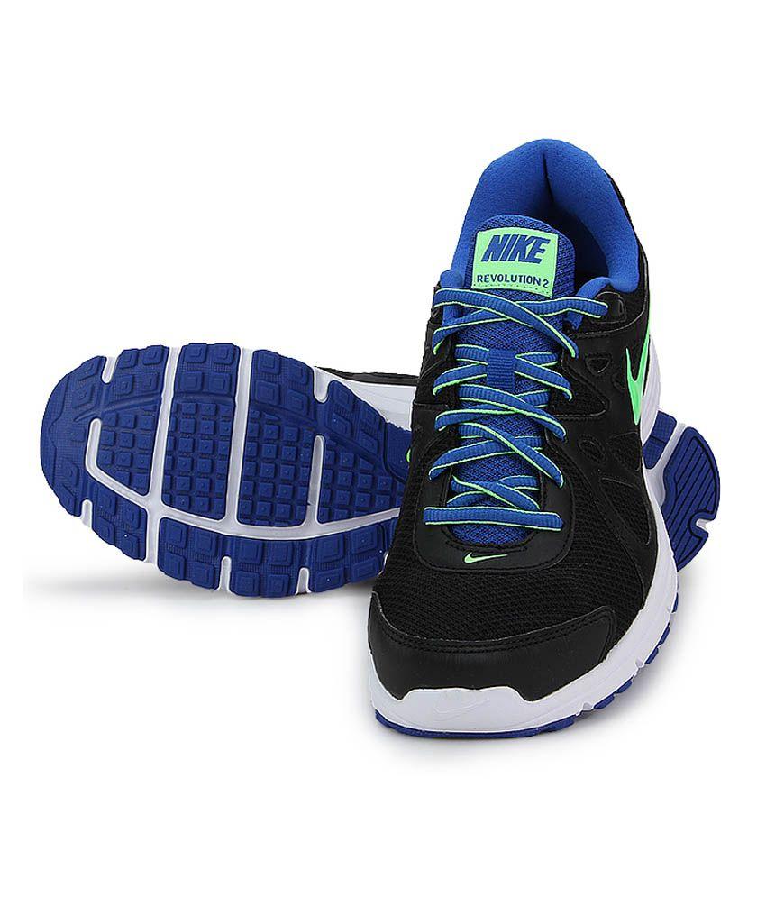 478e6c6d Nike Revolution 2 Msl Black Running Shoes