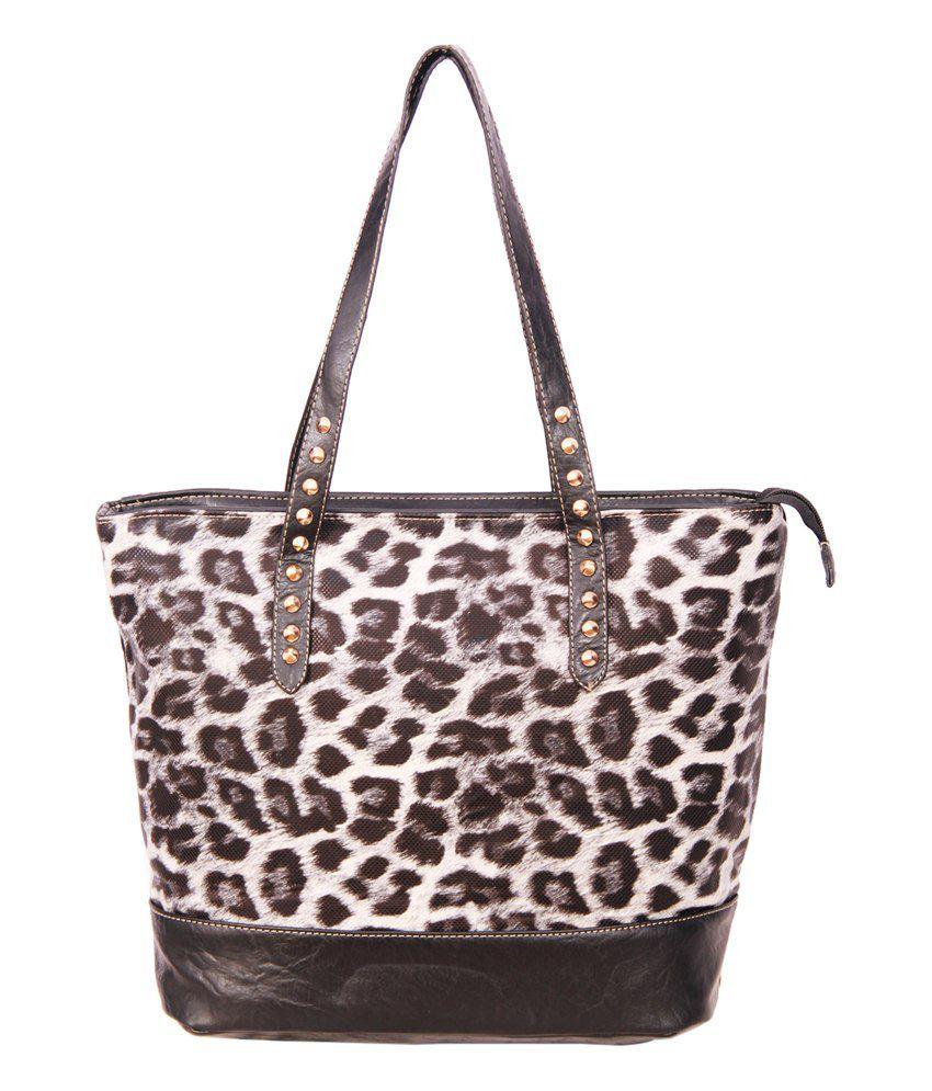 A-Progeny Bob-6285 Black Brown Shoulder Bags
