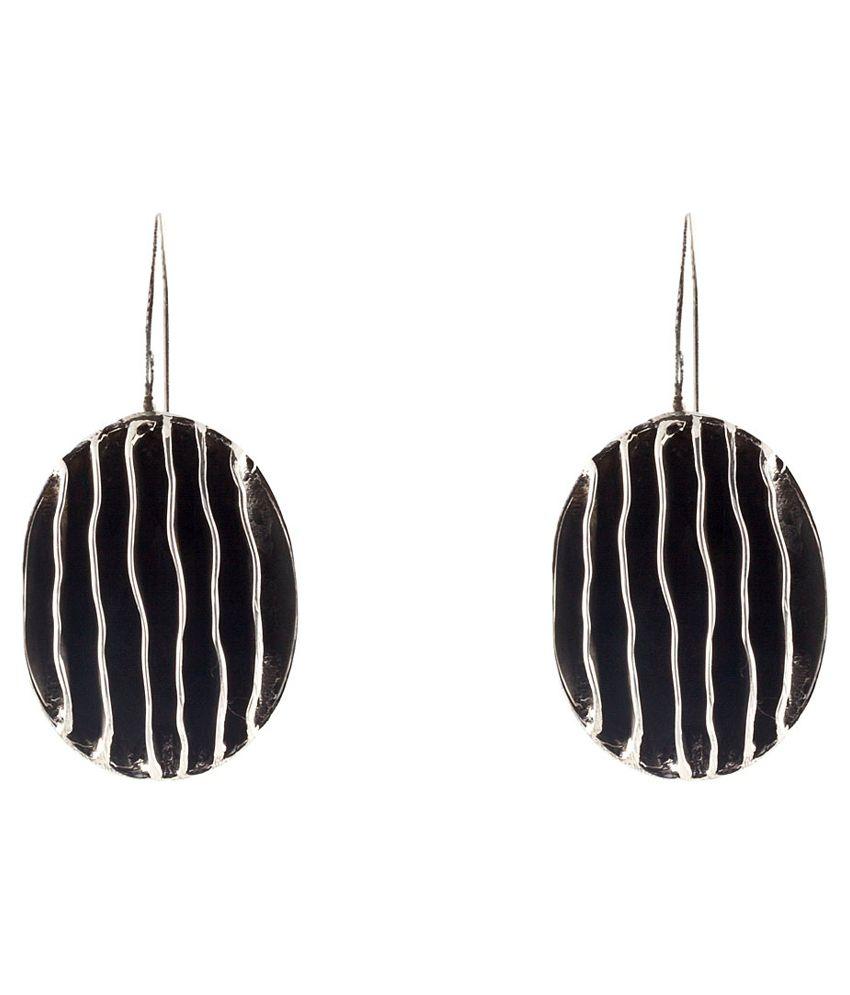Beautiful MirrorWhite Earrings - Antique Drops
