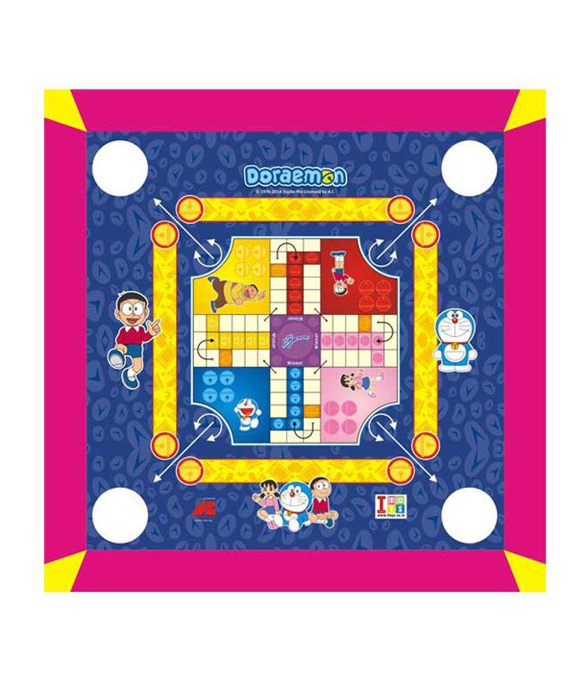 Doraemon Carrom Board cum Ludo