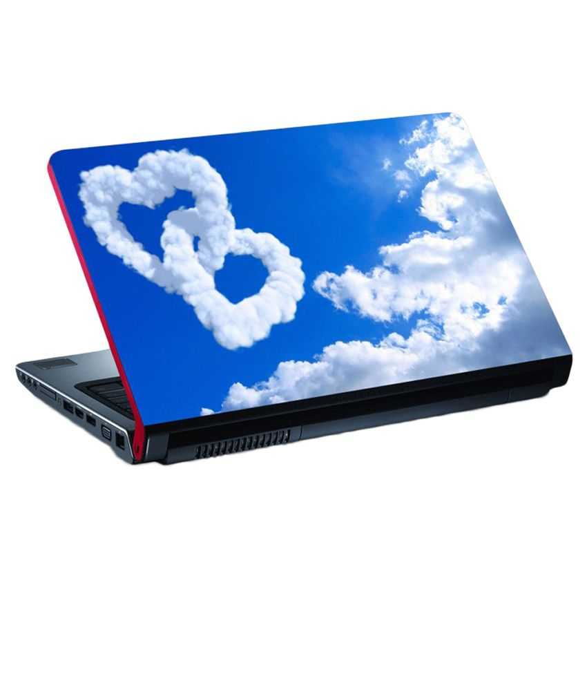 Amore Heart Laptop Skin