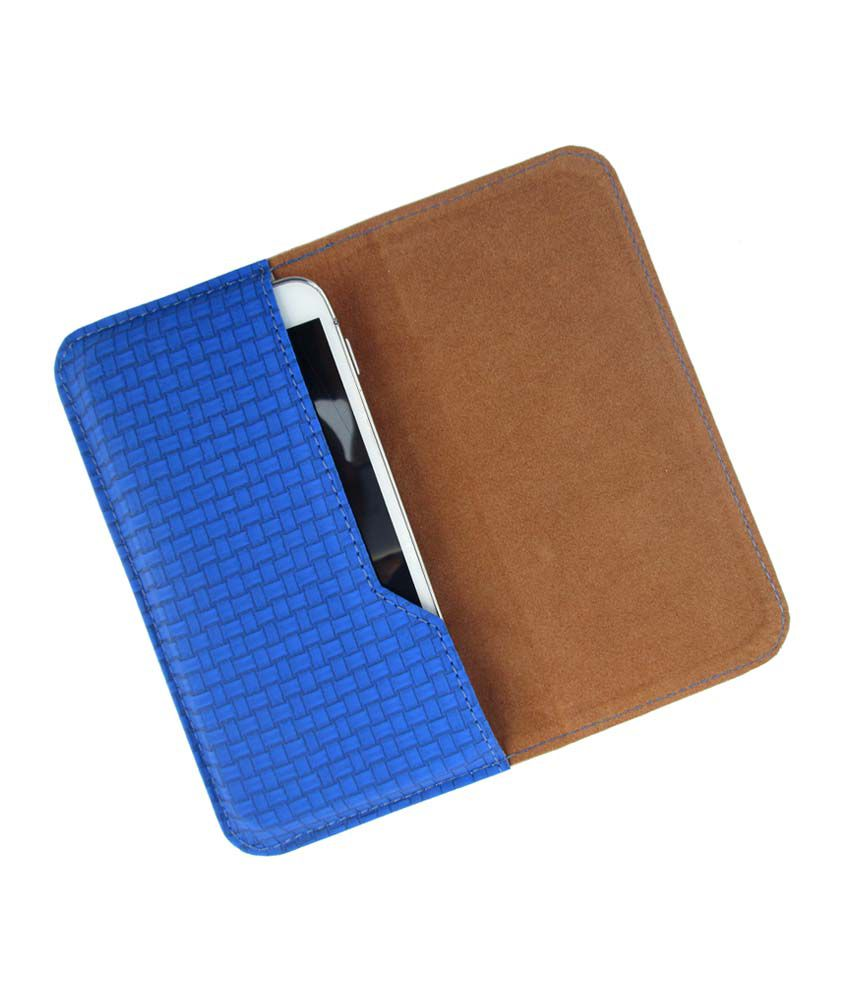 Ikitpit Pu Leather Flip Pouch Case Cover For Lg Optimus L5 Dual
