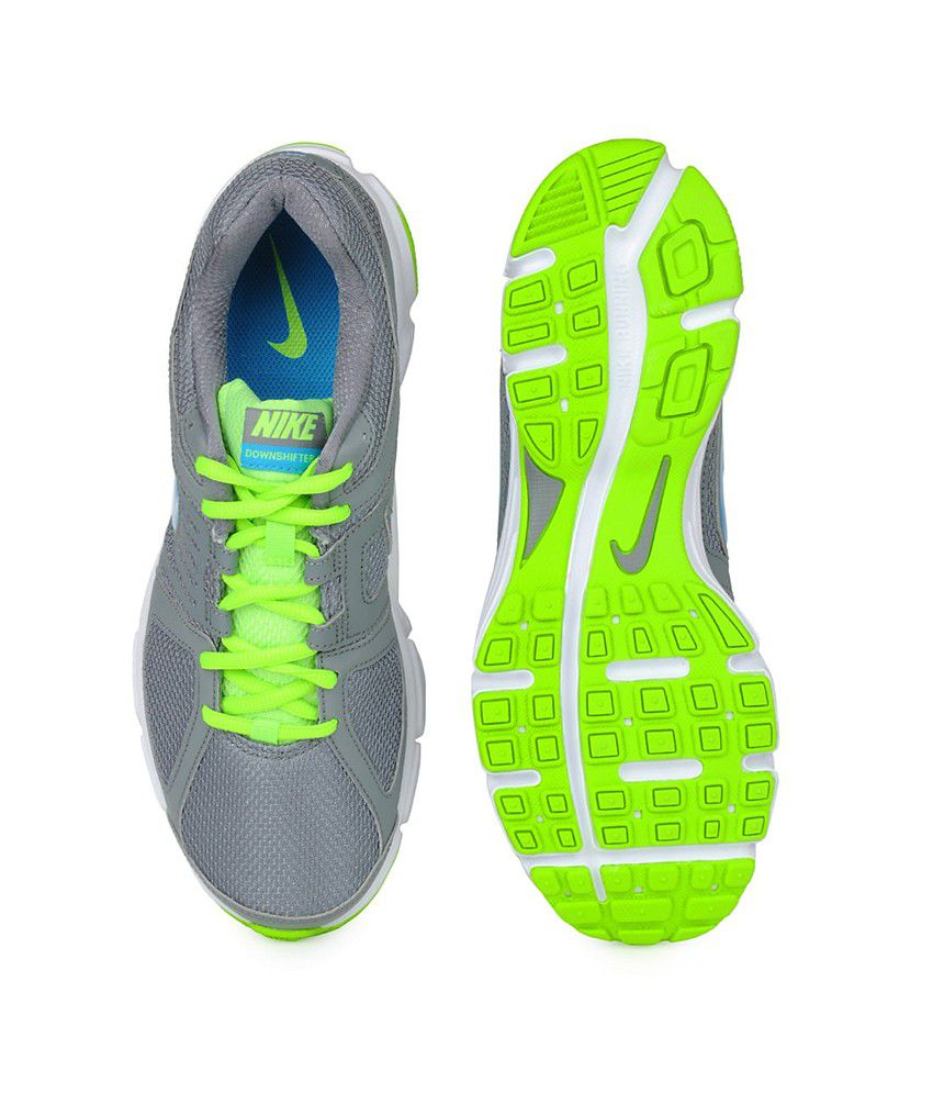 eb25fc94144 ... Nike Downshifter 5 Msl Men Sports Shoes - Gray Blue And Green Colour ...