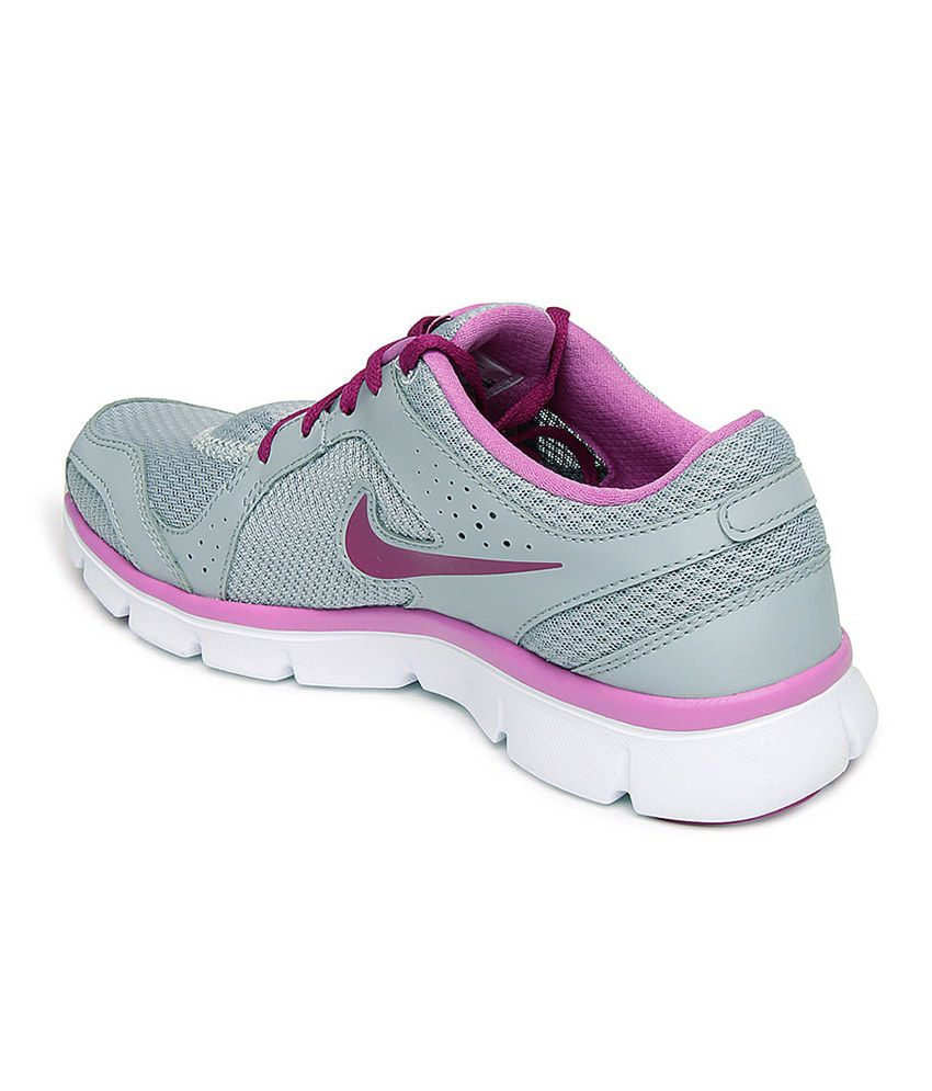 14c69ba3396ea ... Nike Flex Experience Rn 2 Msl Women Sports Shoes - Gray And Pink Colour  ...