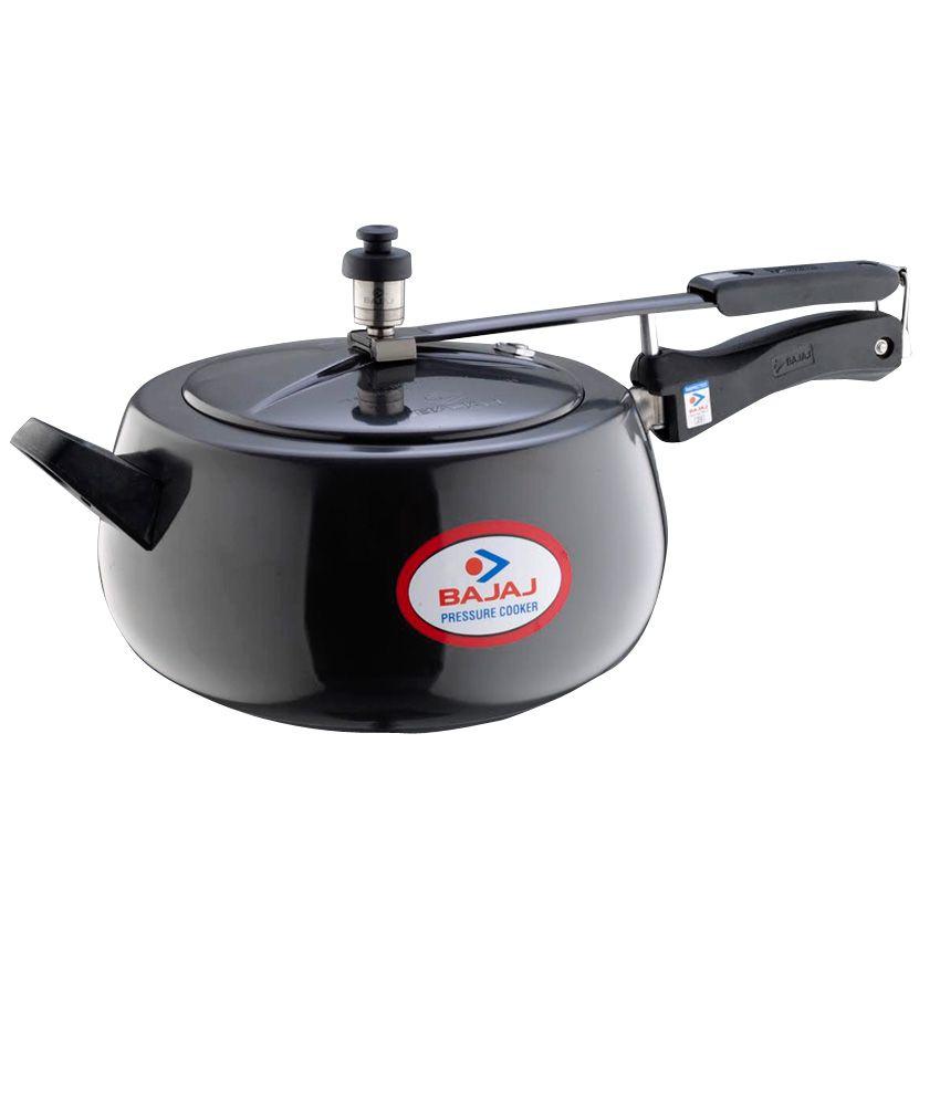 Bajaj Majesty Anodised Handi 3 L Pressure Cooker (Inner Lid)