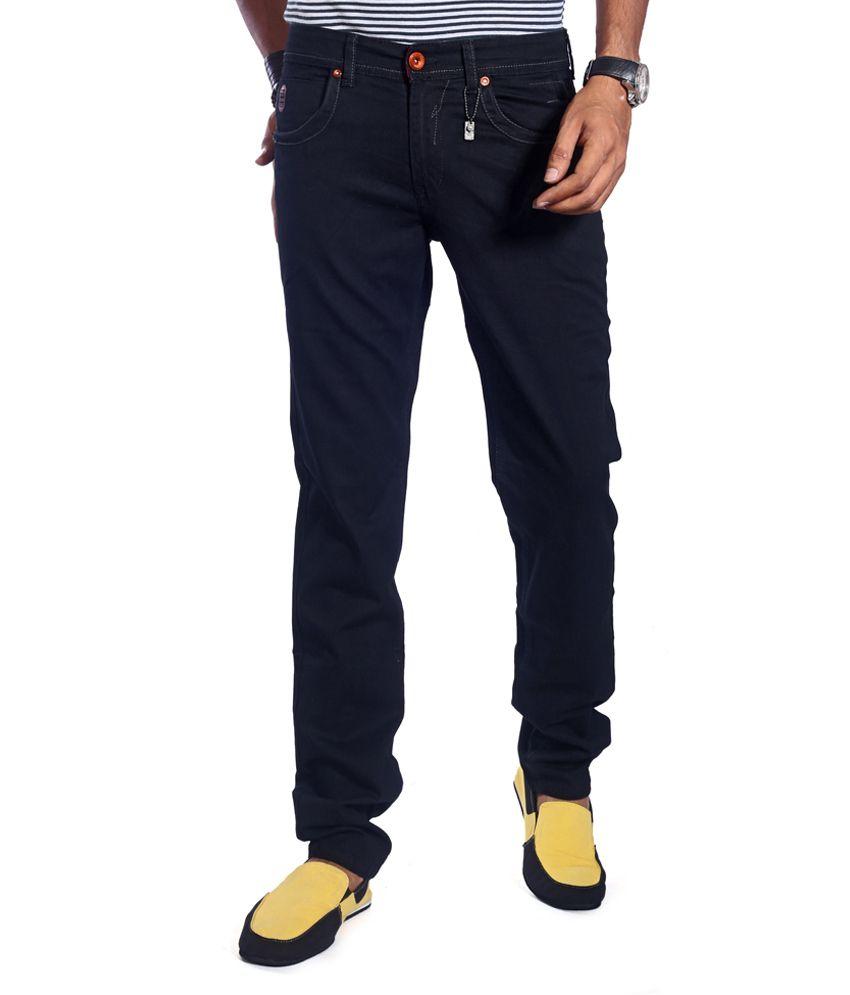 Urban Navy Black Slim Jeans