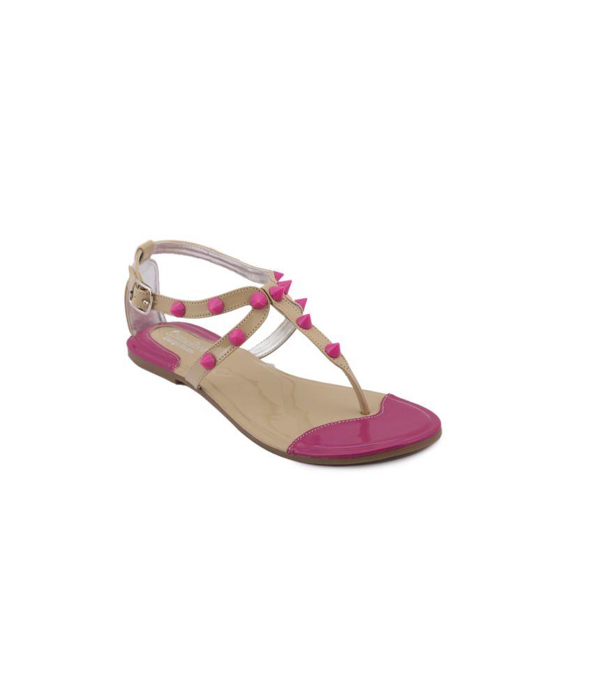 Charu- Diva Design Studio Purple Sandal