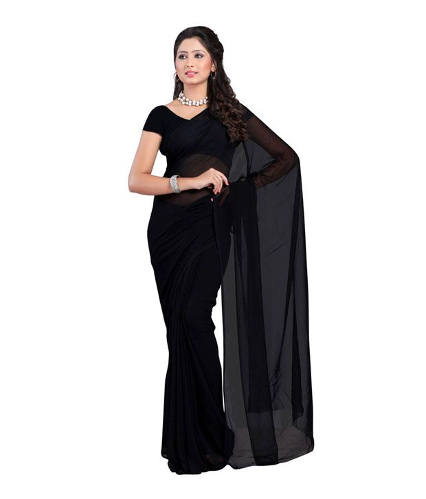 Divine Multicoloured Georgette Saree