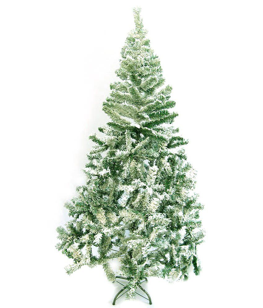 Ginni Bloom Artificial Christmas Tree With Snow 6 Feet