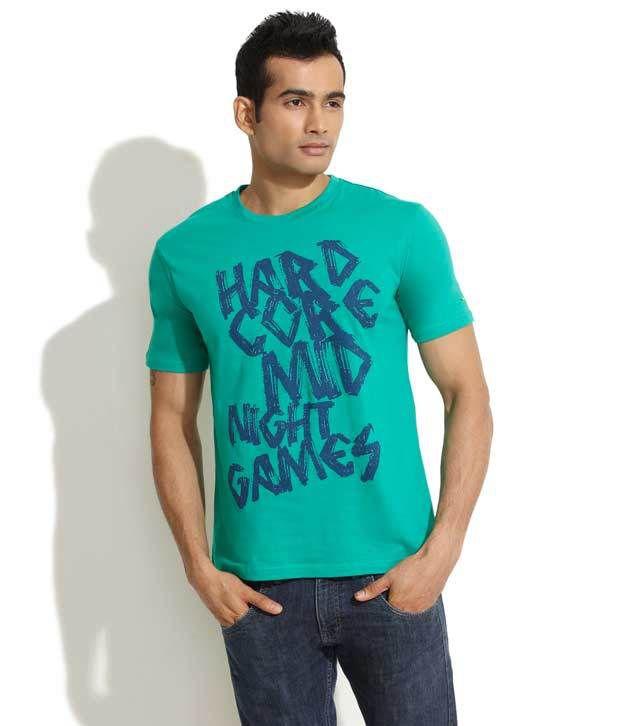 Indigo Nation Green Midnight Games T-Shirt
