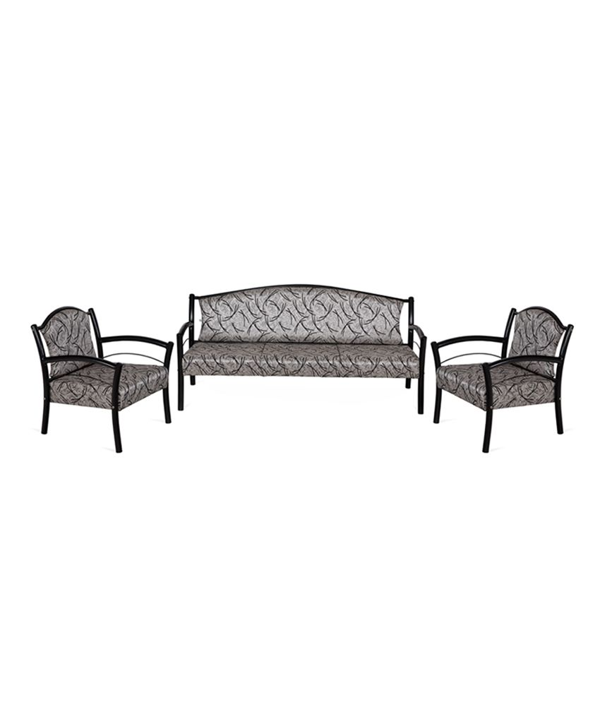 Nilkamal Avintis 3 1 1 Metal Sofa Set Buy Nilkamal