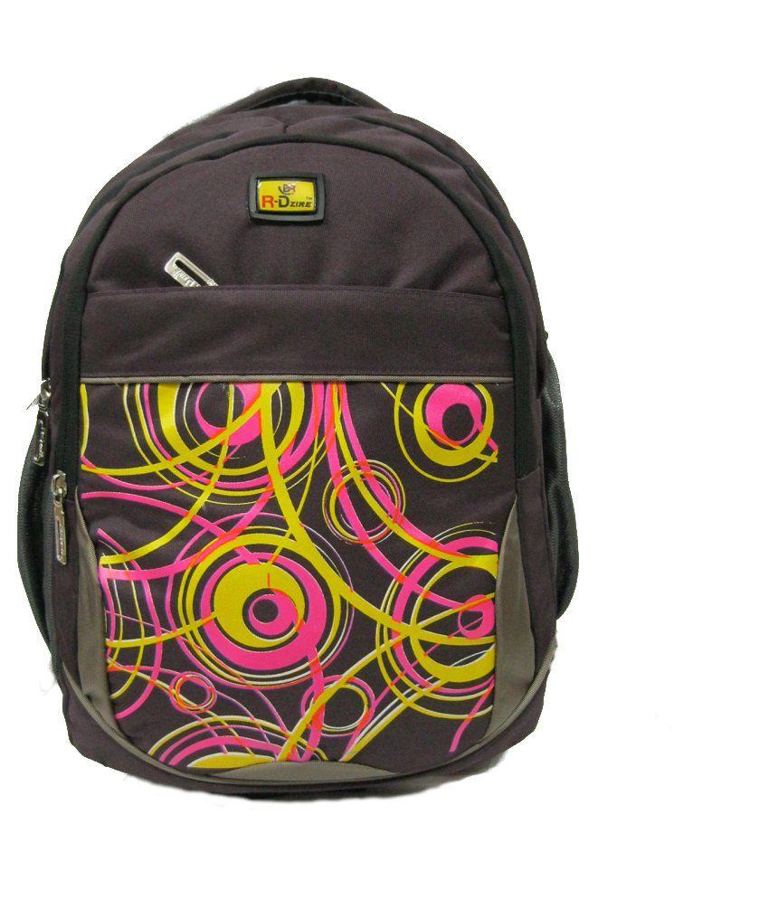 R-dzire Water Resistant Laptop Backpack Purple