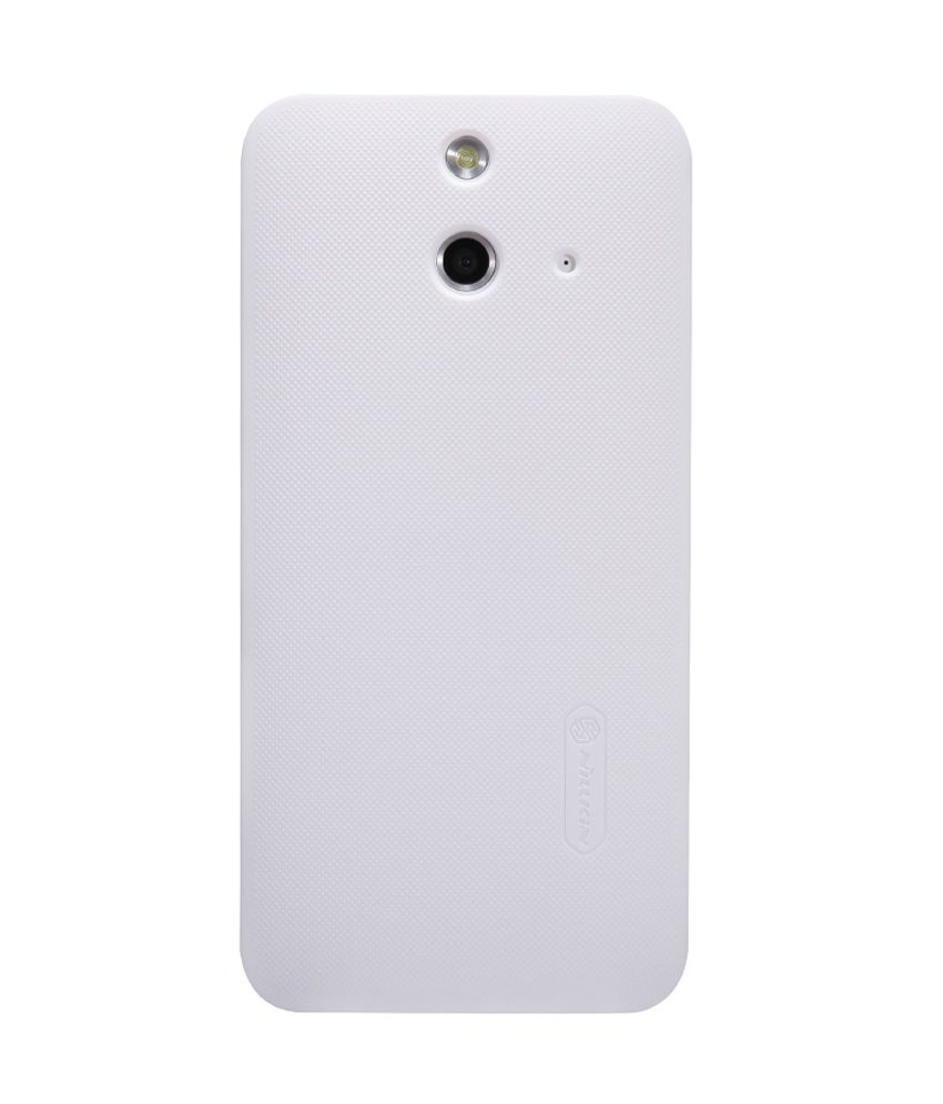 new product 06cc8 9727b Nillkin Back Cover For Htc One E8 - White