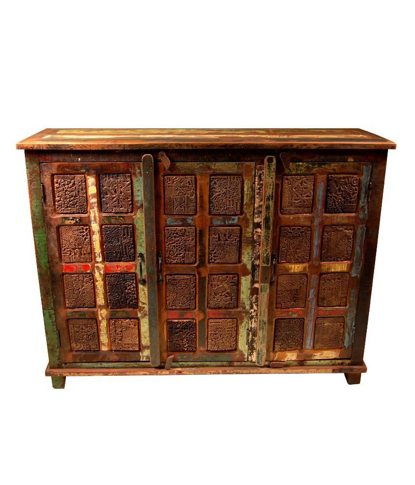 The attic reclaimed wood jaisal sideboard buy the attic for Reclaimed wood online