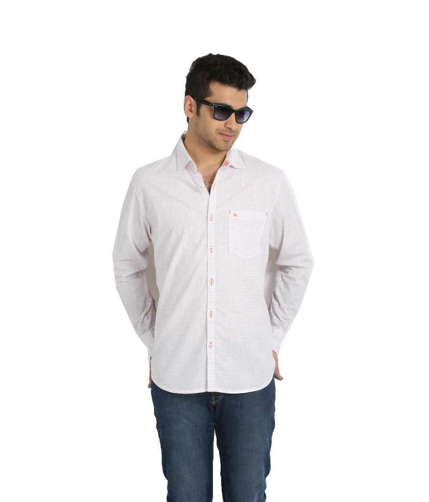 urbantouch White Casuals Shirt