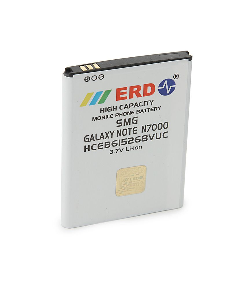 ERD Compatible Mobile Battery for SMG Galaxy Note N7000