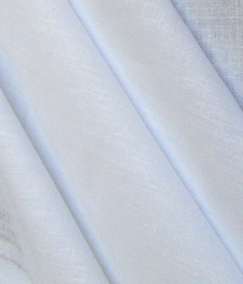 white linen shirt fabric