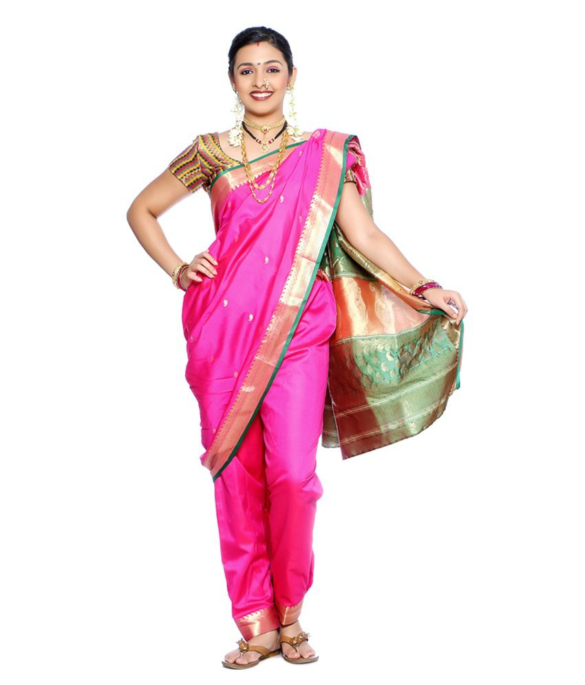 How to maharashtrian wear lavani saree recommend to wear for autumn in 2019