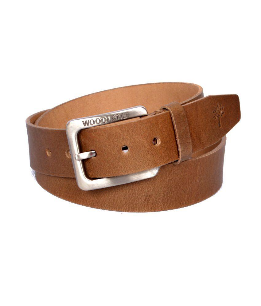 woodland s camel brown belt buy at low price