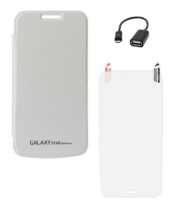 Ygs Flip Cover For Samsung Galaxy Star Advance G350e ...