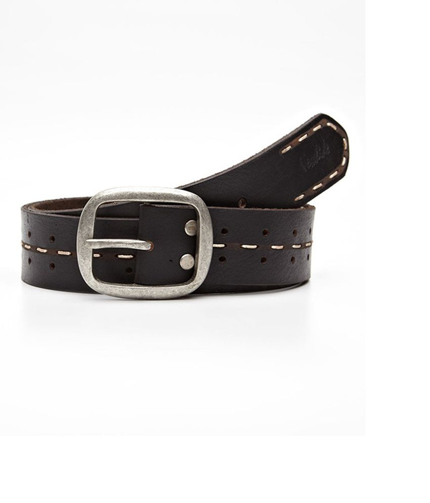 Newhide Brown Casual Single Belt For Men